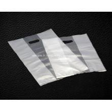 Sacs à provisions en plastique transparent