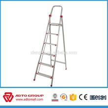 EN131 escalera de mano, escalera europea, escalera de aluminio plegable
