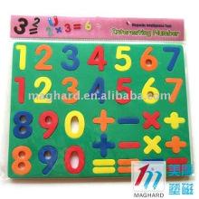 Educational Playable ,Decoration DIY color EAV Magnet alphabet letters