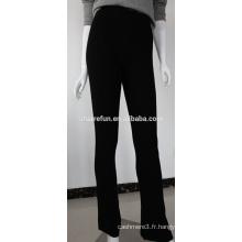 Pantalons en cachemire pur mode de vente d'usine