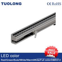 Arandela de pared LED 36W Slim Arandela de pared LED DC24V RGB LED