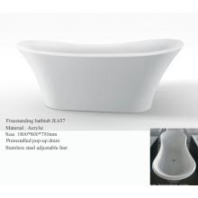Banheira de acrílico independente de chinelo duplo