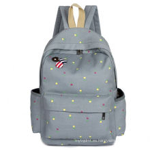 Bolso de estudiante de nylon promocional de alta calidad de la mochila de la escuela