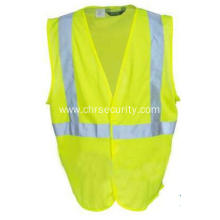 High Visibility Yellow Economy Safety Vest