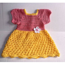 Knitting Baby Girl Crochet Dress