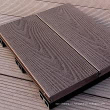 China wpc fábrica WPC decking piso de madeira ao ar livre