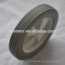 Ruedas de carro de plástico con espuma de 10 x 1.75 PU