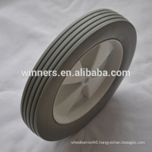 10 x 1.75 PU foam plastic wagon cart wheels