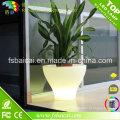 Pots de jardinière éclairés par LED / pot de fleur de LED