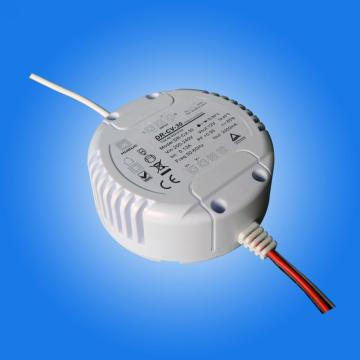 30w controlador LED regulable circular para downlights led