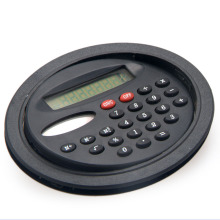 8 Digits Dual Power Round Pocket Calculator for Children