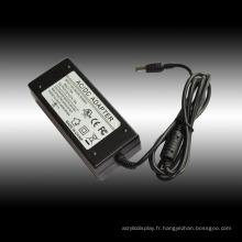 Conducteur de bande de moniteur de l'affichage à cristaux liquides de l'adaptateur 60W AC de 12V 5A LED