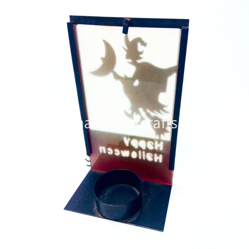 Witch Tealight Candle Holder