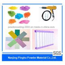 Light Purple Decorated Epoxy Powder Paint