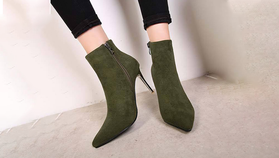 Stiletto Heel Booties