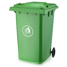 100% Virgin Outdoor Waste Handling Plastic Garbage Bin (360LTR)