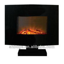 statue fireplace