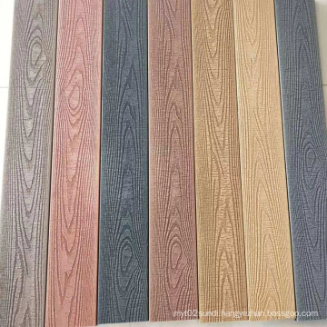 Never disappear wood grain WPC decking,Second generation WPC decking,3D embossed surface