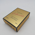 Custom Woman Perfume Gold Card Paper Box