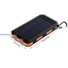 Özel Tasarım Pil Gücü Şarj Cihazı Güneş Enerjisi Bankası