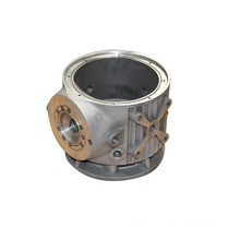China aluminum alloy sand casting or gravity casting foundry supply high quality CNC machined castings
