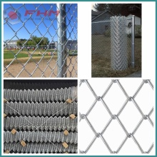 Heavy Galvanized Chain Link Anggar 12 Gauge