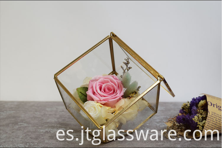 Vases Glass Flower9