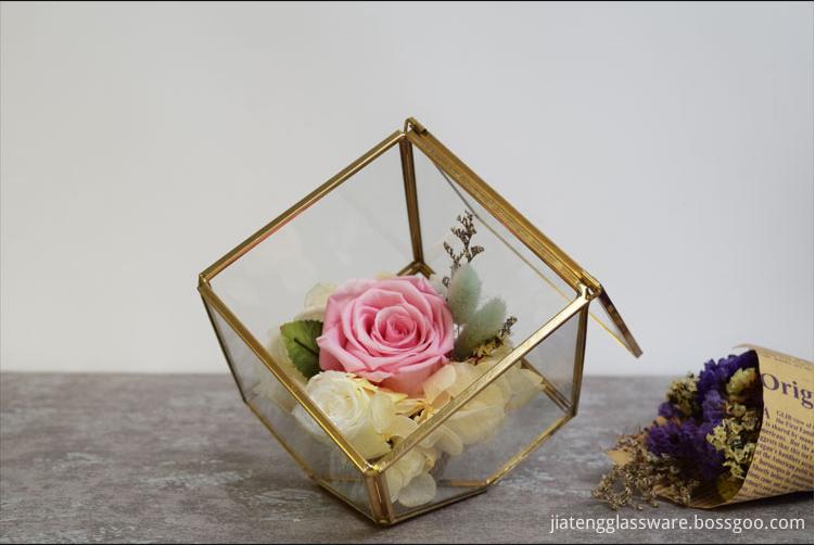 Vases Glass Flower9