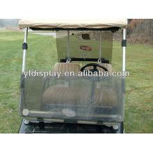 Pare-brise acrylique personnalisé pour les voiturettes de golf G26 / G22