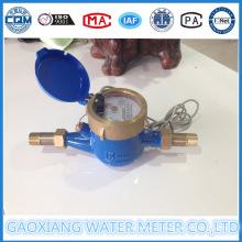Мультиметр Jet Reed Switch Передача данных Счетчики воды Dn15-Dn25