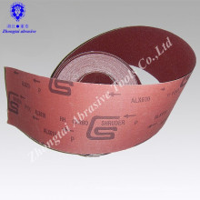 Jumbo Rolle GXK51 Aluminium Oxide Abrasive Tuch Rolle Schmirgel Tuch Rolle