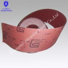 Jumbo roll GXK51 Rollo de tela abrasiva de óxido de aluminio Rollo de tela de esmeril