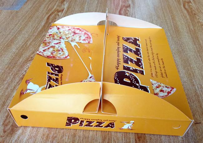 cardboard pizza box customized