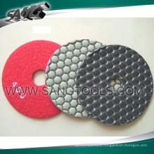 Good Diamond Polish Pads for Stone Processing (SG-089)