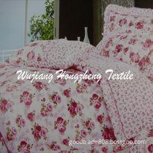 Printed Diamond Velvet for Bedding Fabric