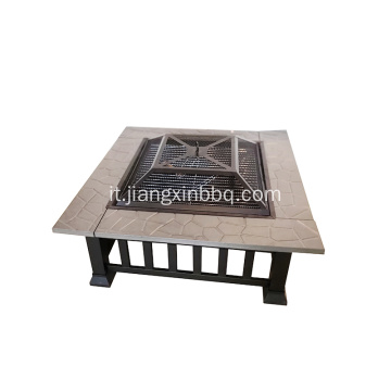Tavolo quadrato Backyard Outdoor Firepit