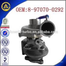 RHB5 8970700292 VD180051-VIAH Heißer Verkauf Turbolader für Isuzu 4JG2-T