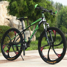 Bicicleta de montaña con freno de disco de aleación de aluminio