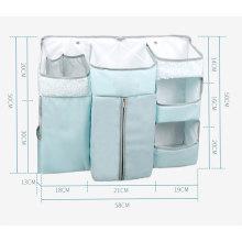Portátil colgante bebé cuna lindo pañal bolsa
