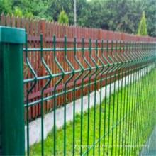 3Д безопасности Проволока сетка Заборная, треугольник изгиб забор