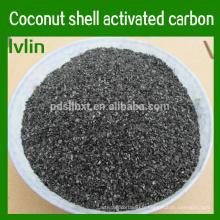 Particules de charbon actif de coquille de noix de coco naturelle