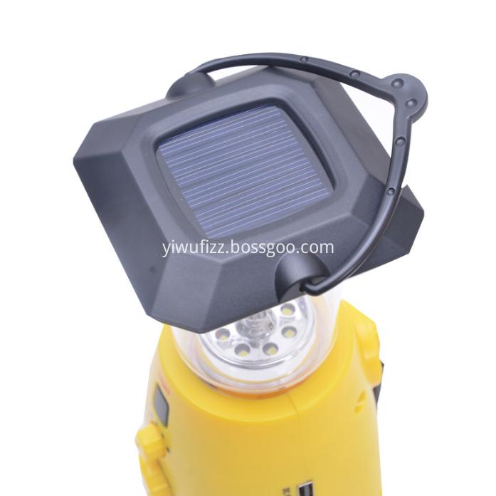Portable camping lamp