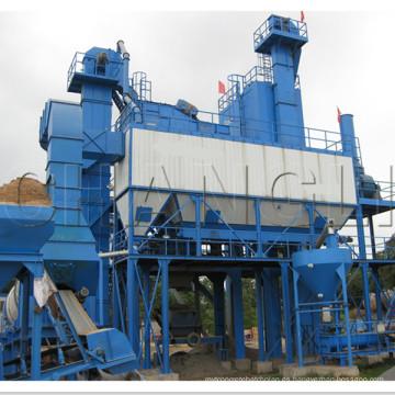 Planta de mezcla de asfalto 40t H, planta de mezcla de asfalto 320t / h