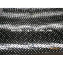 2 barras de placa a cuadros de aluminio