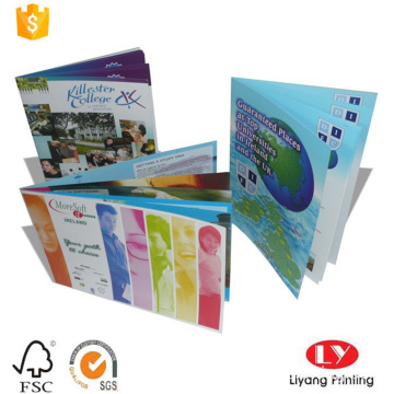 murah Saddle Stitching Binding book printing brochure