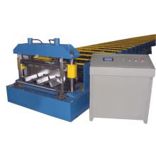 Máquina de moldagem de piso de plataforma totalmente automática com PLC Panasonic