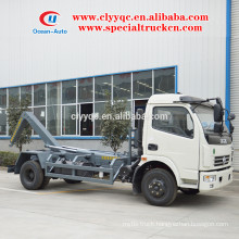DongFeng hook lift garbage truck with removable box