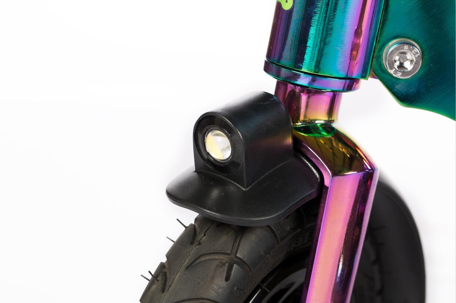 chrome scooter