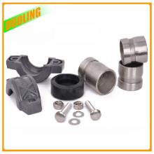 Raccord flexible en caoutchouc de réparation de tuyau d'acier