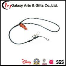 Personalizada cordón de cremallera plástica postal cordón